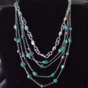 Vtg Turquoise Necklaces Set. Nice!